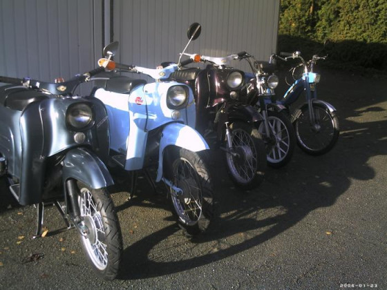 Ein Teil der Moped/Mofa