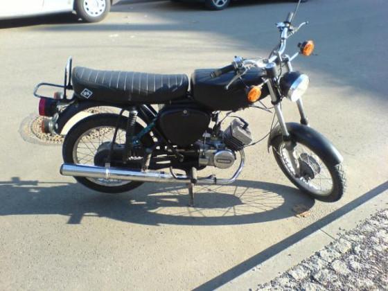 Erstes Moped: S50B2 BJ '78