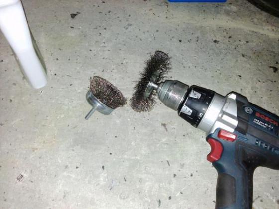 Werkzeug zum Rost und lack entfernen