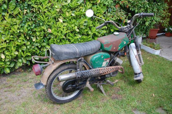Patina-Moped 3