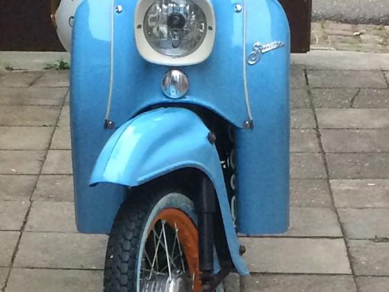 KR51/2E gulfblau Front