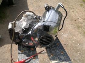 Motor mal angefangen zu polieren