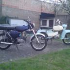 meine beiden.. die S51 für jeden Tag und der Habicht für schönes Wetter