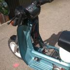 Als ich das Moped kaufte war kein funke da also komplett neue zündanlage aber nur standart 12v 60,-