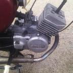 Moped vorher 2