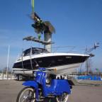 Im Yachthafen von Steinach