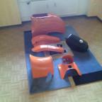 Orange in die Saison